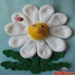 patron gratis flor amigurumi