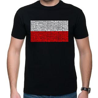 Koszulka z flagą Polski