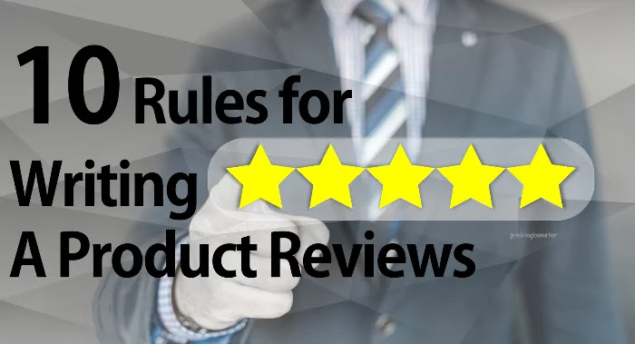 Writing online product reviews