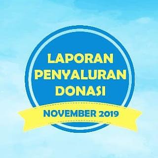 Penyaluran Donasi November 2019