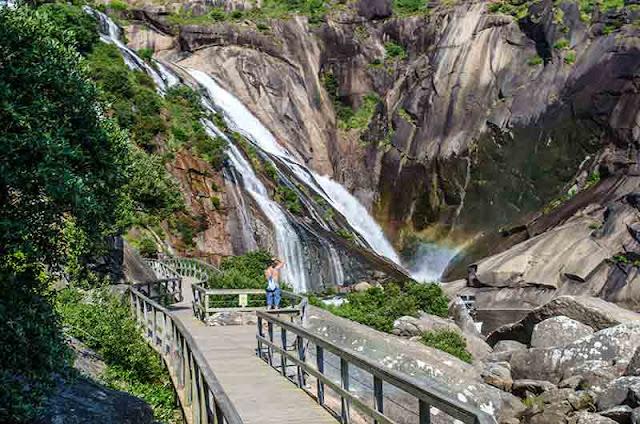 Cascada del Ezaro