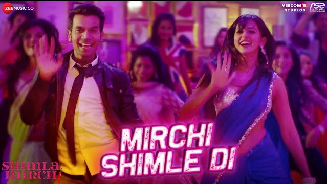Mirchi Shimle Di  হিন্দি গান Lyrics