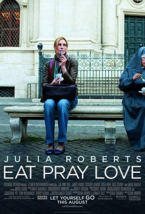 Eat Pray Love theatrical poster