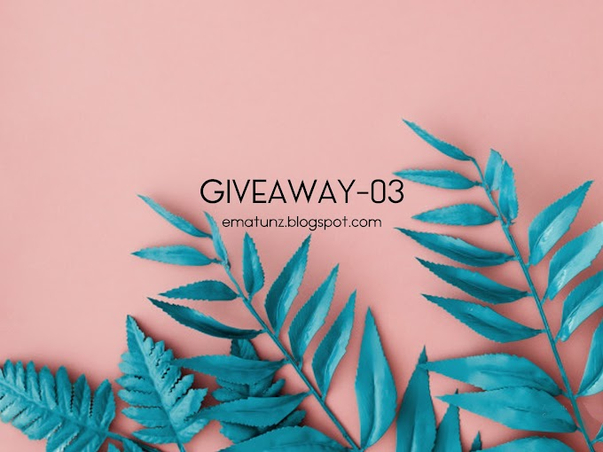 Giveaway ke-3 Oleh Ematunz
