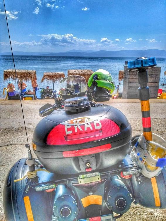 Με δύο Μοτοσυκλέτες Ταχείας Ανταπόκρισης το ΕΚΑΒ στην Χαλκιδική