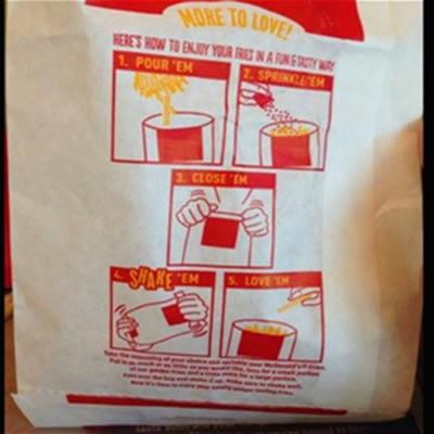 Papas fritas de MacDonald