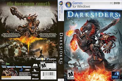 Darksiders PC DVD Capa