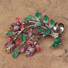 Small Fuchsia brooch by Exquisite