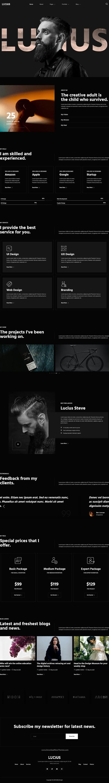 Personal Portfolio Elementor Template Kit