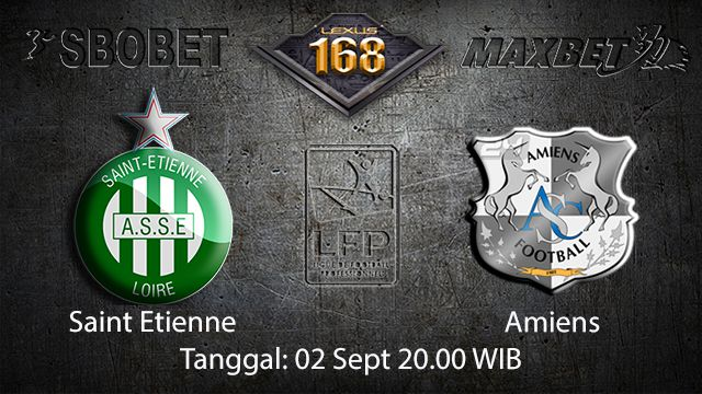 Prediksi Bola Jitu Saint Etienne vs Amiens 2 September 2018 ( French Ligue 1 )