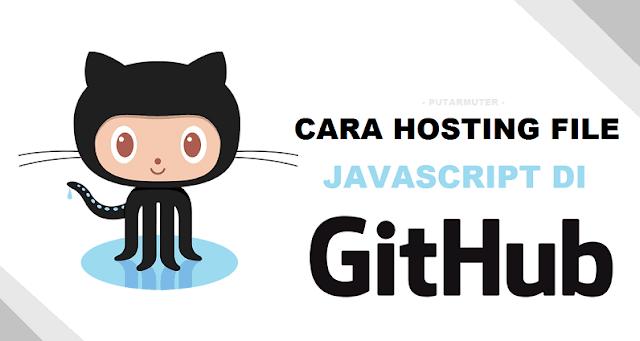 cara hosting file di github