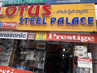 Lotus Steel Palace  Appliance store in Hyderabad