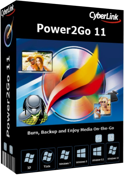 CyberLink Power2Go Platinum v11.0.1202.0 Multilingual