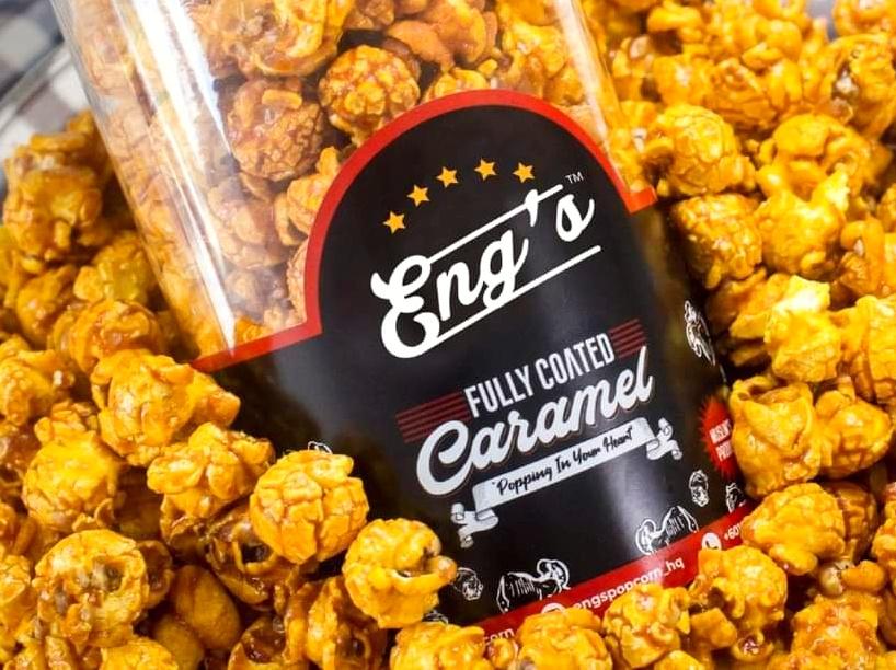 Eng's Popcorn - Popcorn Caramel Sedap, Rangup & Murah