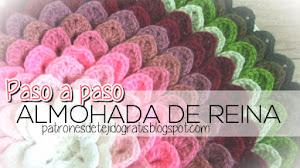 Cómo tejer Almohada de Reina al crochet / Paso a paso - video