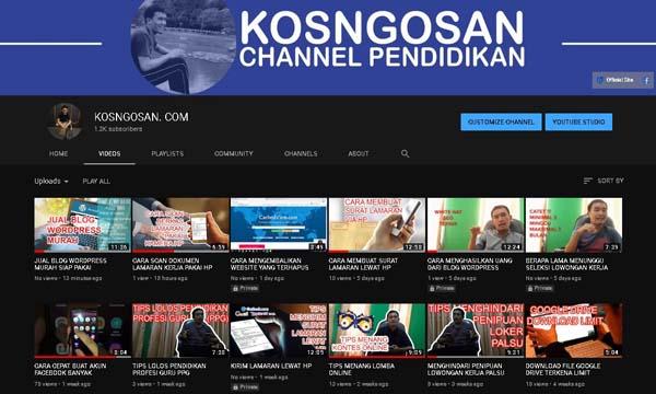 111 Ide Nama Channel Youtube Keren Kosngosan