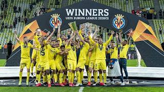 time villarreal campeao liga europa 2021