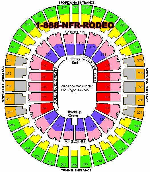 Nfr Tickets 2018 2019 Dates National Finals Rodeo And