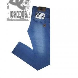 Celana Jeans Pria DCShoecousa Snowblue