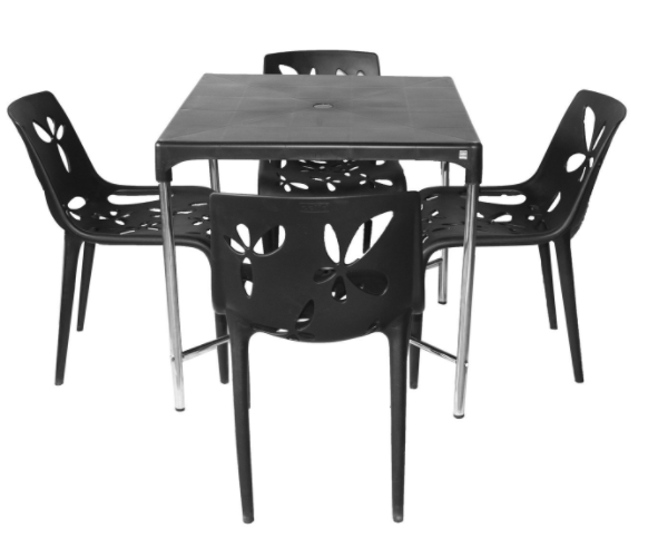 Cello Croma DLX Vinca Four Seater Dining Table Set