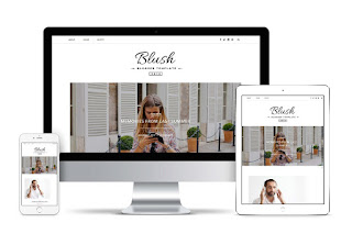 Blush Responsive Blogger Template