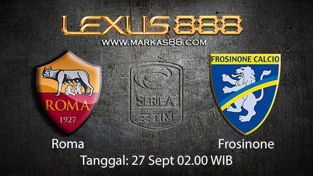 Prediksi Bola Jitu Roma vs Frosinone 27 September 2018 ( Italian Serie A )