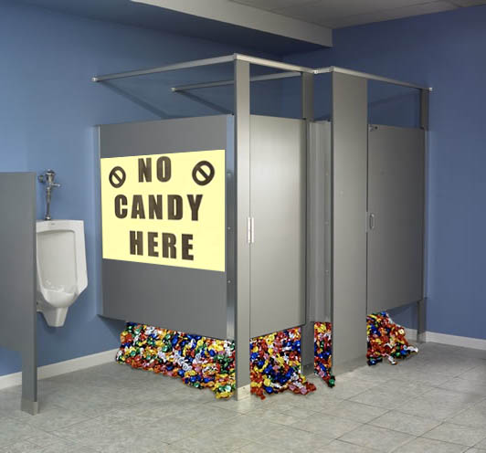 poems about halloween candy crisis