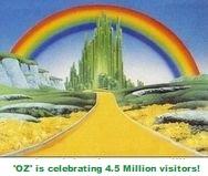 'OZ' is celebrating over 4,500,000 Visitors