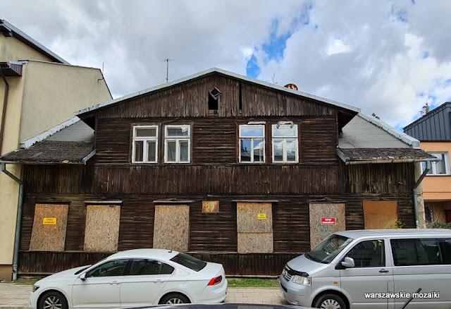 Warszawa Warsaw Tragówek drewniak drewniany dom architektura architecture