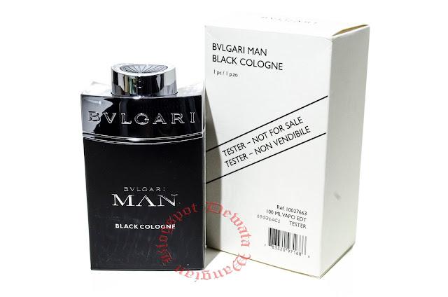 Bvlgari Man Black Cologne Tester Perfume