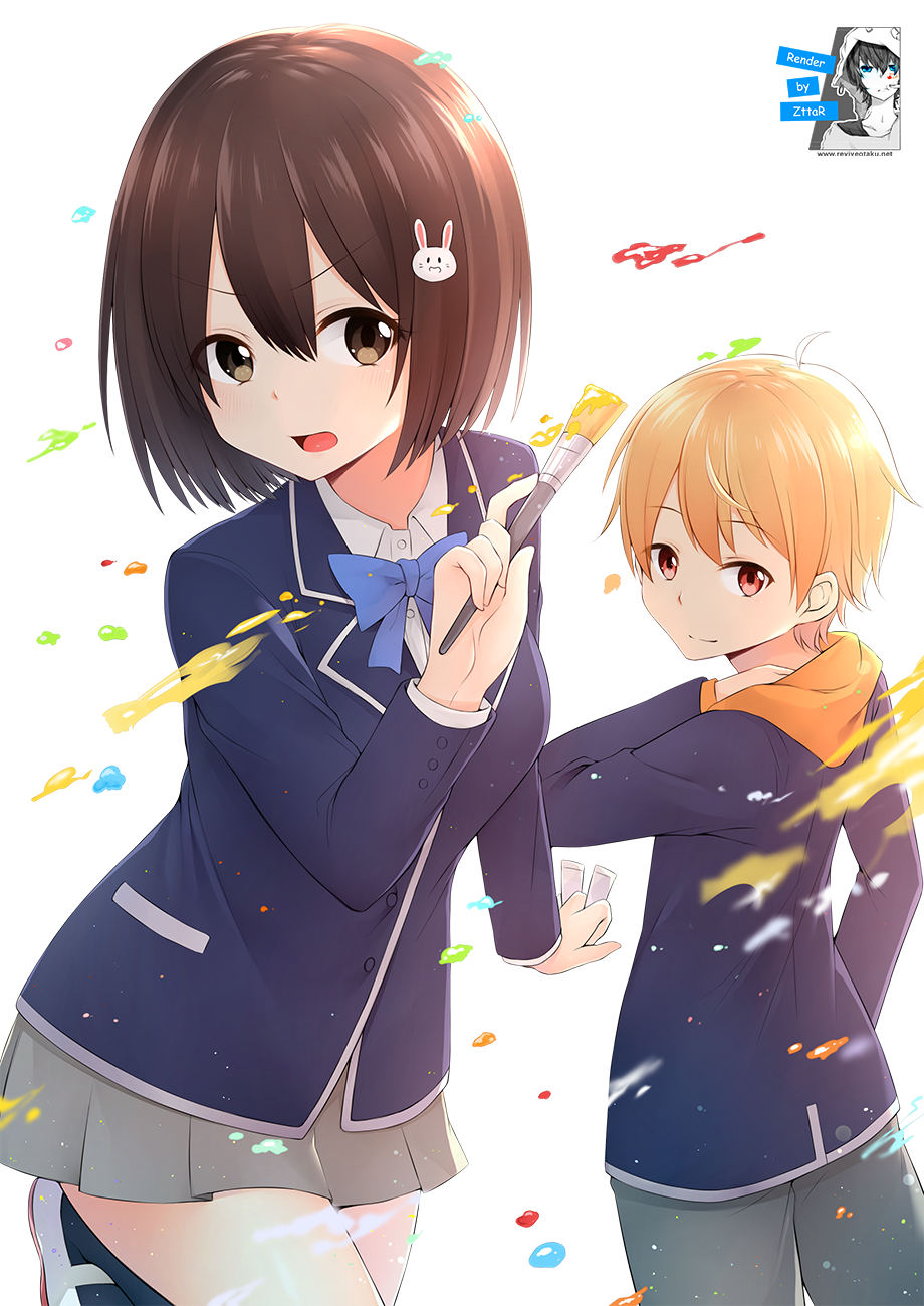 Render Usami Mizuki & Uchimaki Subaru