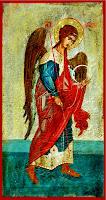 Sfantul Arhanghel Mihail, icoana pe lemn
