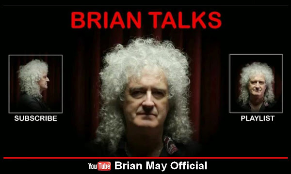 BRIAN MAY OFFICIAL EN YOUTUBE ¡SUSCRÍBETE!