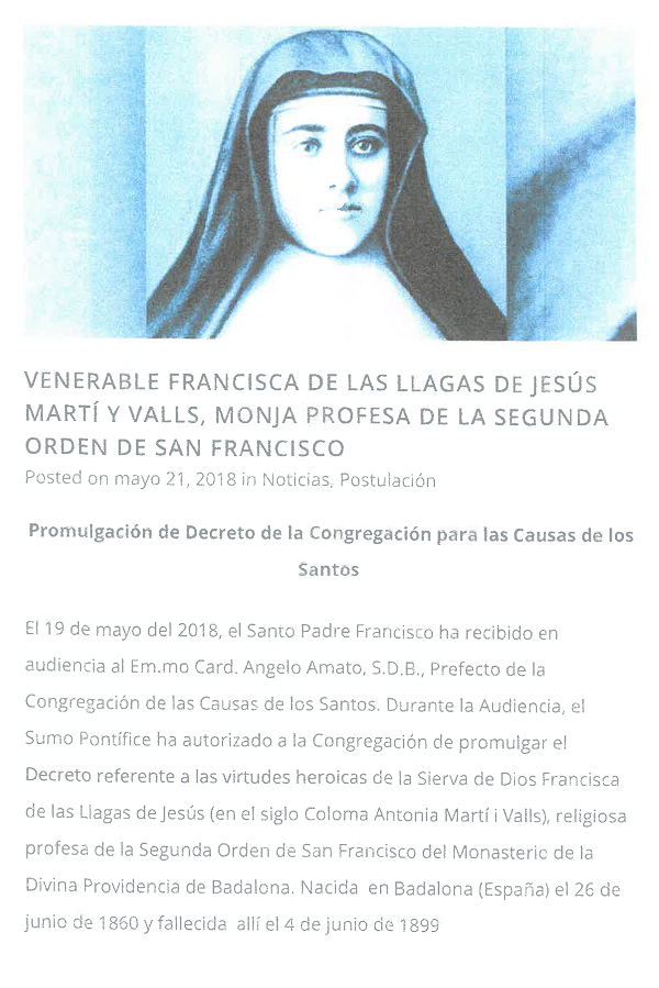 Venerable Francesca