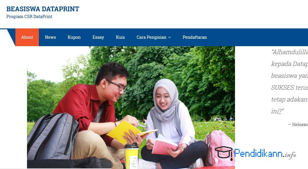 Syarat Dan Ketentuan Beasiswa DataPrint Terbaru