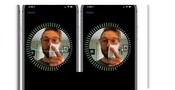 حل مشكلة واصلاح توقف بصمة الوجه Face ID لهواتف الايفون