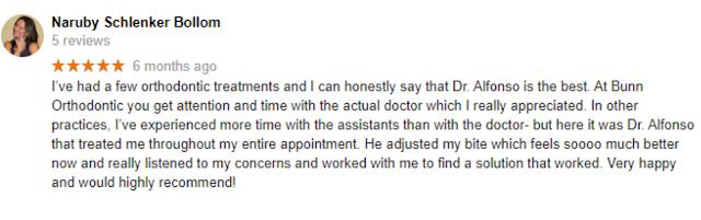 bunn orthodontic reviews