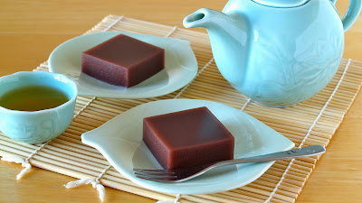 Mizu-Yokan (Japanese Soft Azuki Bean Jelly)
