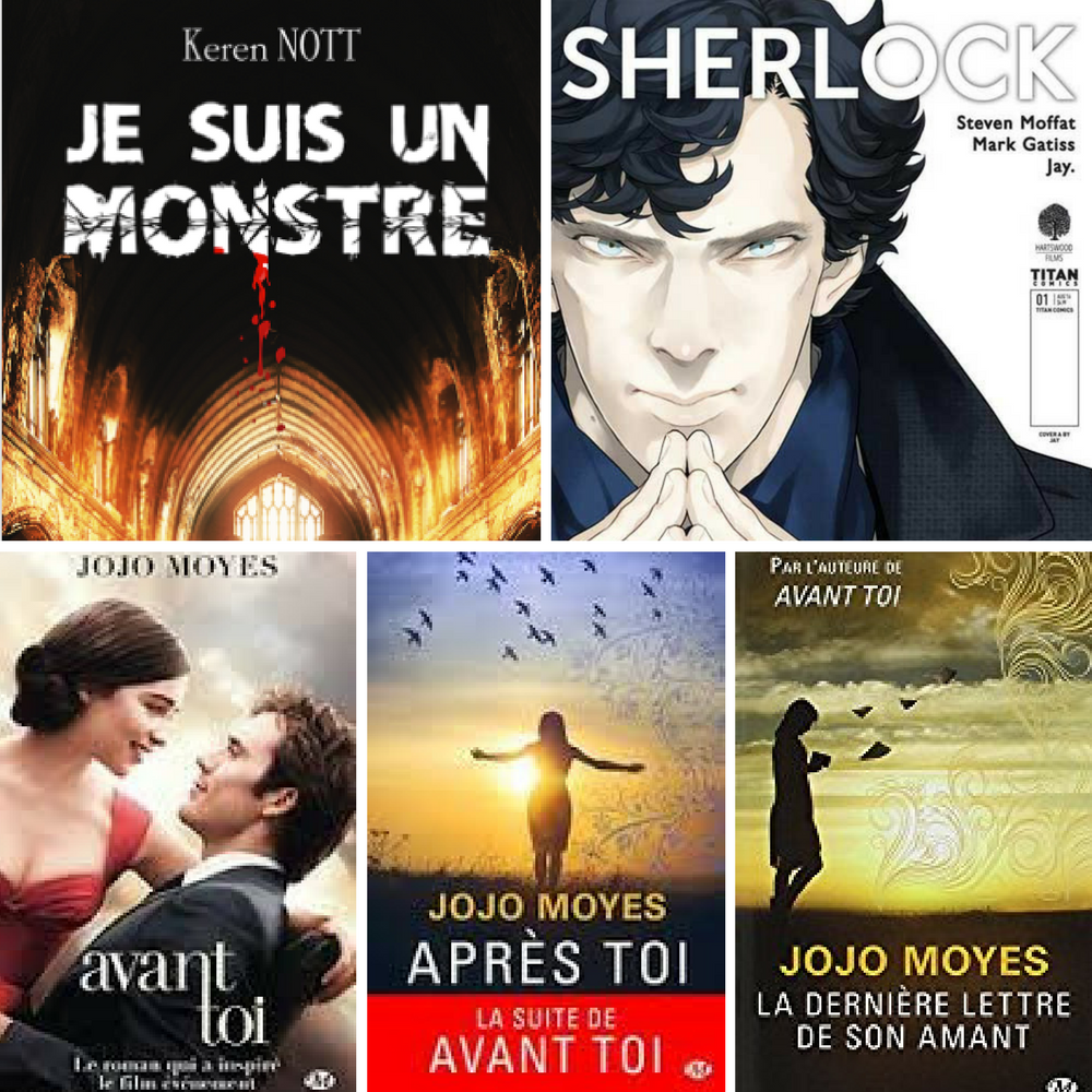 Bilan Mars 2017 - MVEQM - Humeurs, Cinéma, Lectures, Séries, Shopping du mois ! DeuxAimes