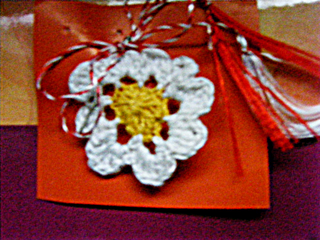 martisor brosa handmade unicat accesoriu