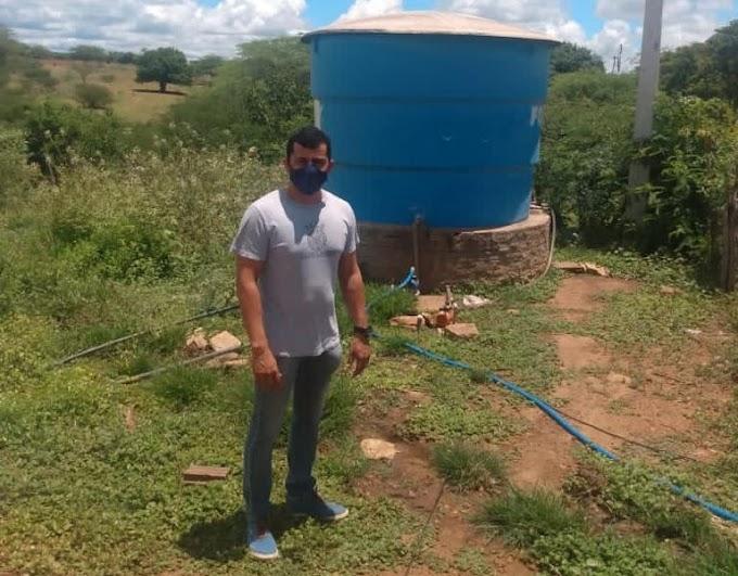 Vereador Duda Barnabé fez visita a comunidade rural Amparinho a pedido de populares