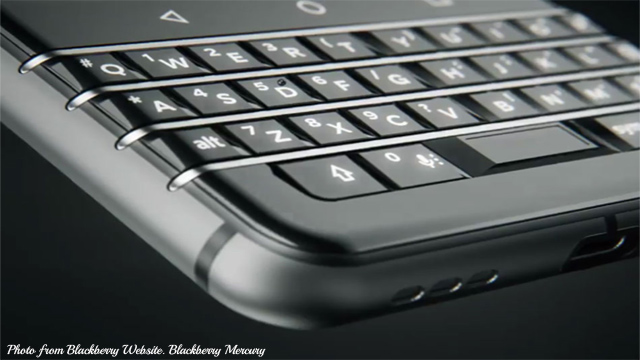 Blackberry Launched New Unique Design Mercury with Classic QWERTY Keyboard