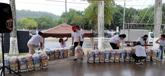 Fundo Social inicia as entregas das doações arrecadadas com a Campanha Natal Solidário 2020