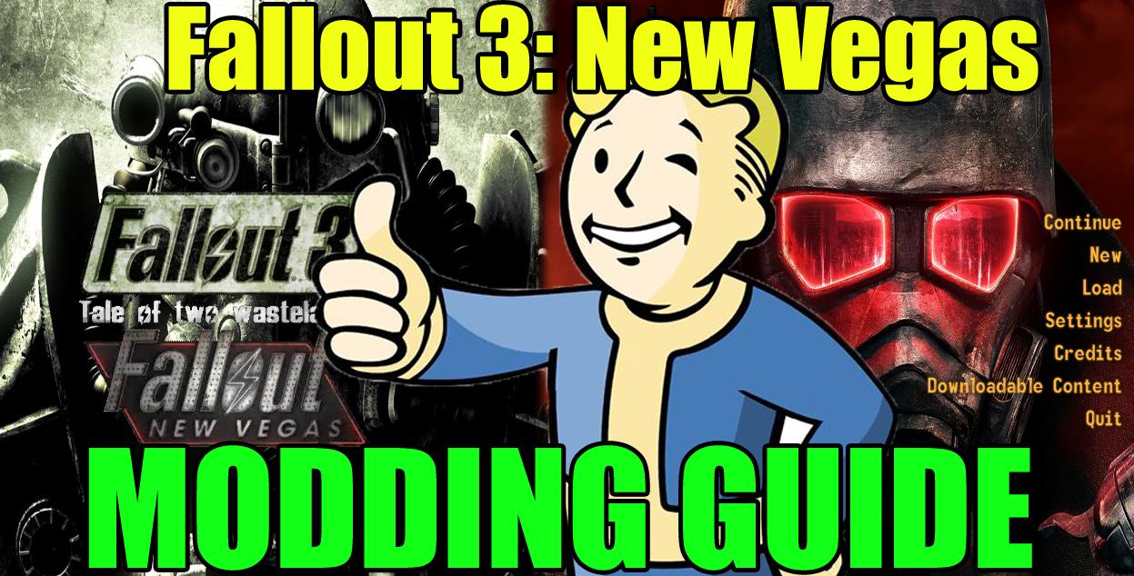 Fallout 3: New Vegas Modding Guide ~ Zhakaron com
