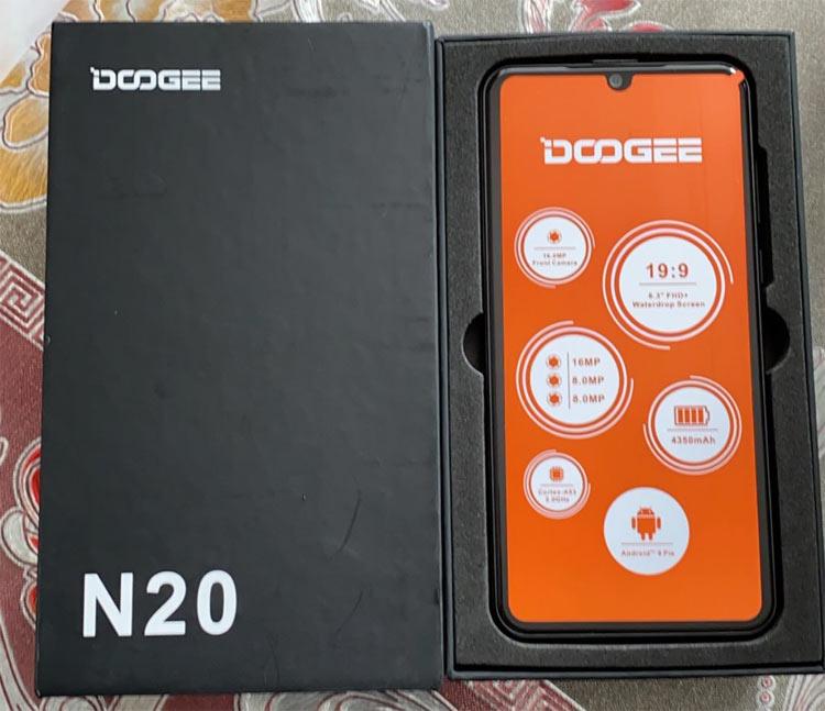 علبة هاتف Doogee n20