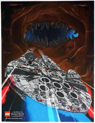 Millennium Falcon VS The Space Slug