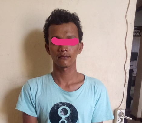Curi Motor Kawan, WN Diciduk Polisi Karena Terekam CCTV
