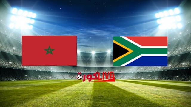 مباراة المغرب وجنوب افريقيا بتاريخ 01-07-2019 كأس الأمم الأفريقية