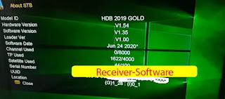 HD Box HDB 2019 Gold New Software V1.35 24 June 2020.