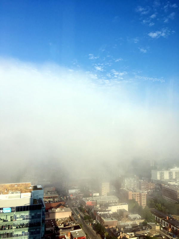 Downtown Toronto Summertime Fog - Tori's Pretty Things Blog